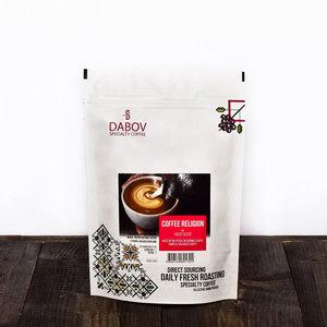 "Специално Кафе ""Еспресо Бленд Coffee Religion"" - DABOV Spcialty Coffe - 200.8 гр. / 1 кг."